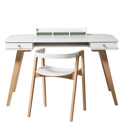 Oliver Furniture Wood Desk & Armchair