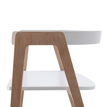 Oliver Furniture Wood Armchair