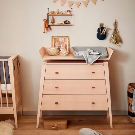 Leander Nursery Dresser with Changing mat and Hoodie