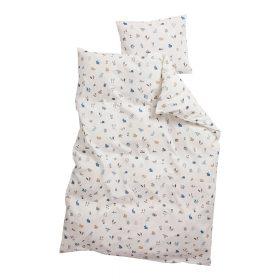 Leander – Dekbedovertrek Forrest voor Junior bedden – dusty blue – 100 x 140 cm