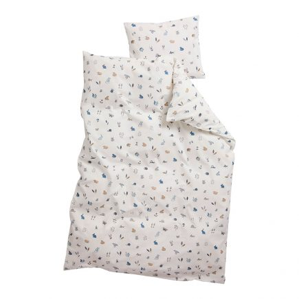 leander-junior-bed-dekbedovertrek-forrest-dusty-blue-100-x-140-cm