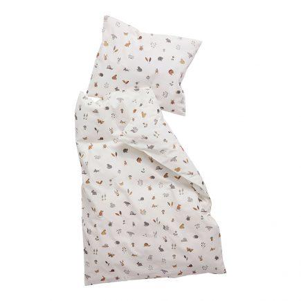 Leander Dekbedovertrek Baby bedding Forrest cappucino 70 x 100 cm