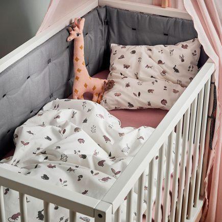 Leander Babybedding Forrest Dustyrose 70 x 100 cm