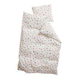 Leander – Dekbedovertrek Forrest voor Junior bedden – dusty rose – 100 x 140 cm