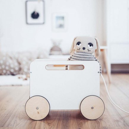 Ooh Noo Toy Chest on Wheels White 02