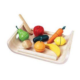 Plan Toys – Samengestelde Fruit- & Groenteset