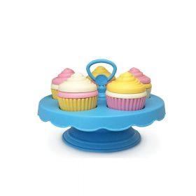 Green Toys – Set met Cupcakes