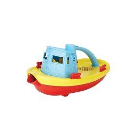 Green Toys – Sleepboot – Blauwe Handgreep
