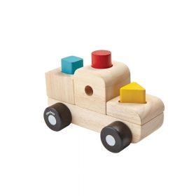 Plan Toys – Sorteerpuzzel Vrachtwagen