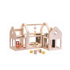 "Plan Toys – Poppenhuis ""Slide and Go"""
