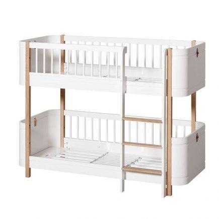 Oliver Furniture Wood Mini+ low bunk bed white oak