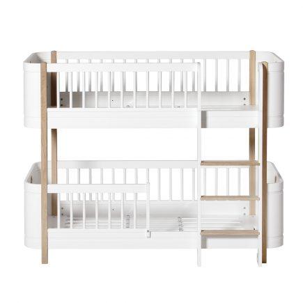 Oliver Furniture Wood Mini+ low bunk bed white/oak