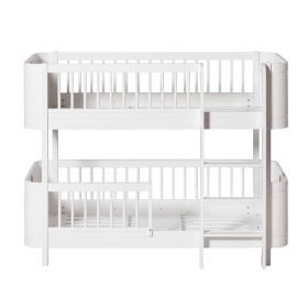Oliver Furniture – Wood Mini+ Low Bunk Bed – Wit