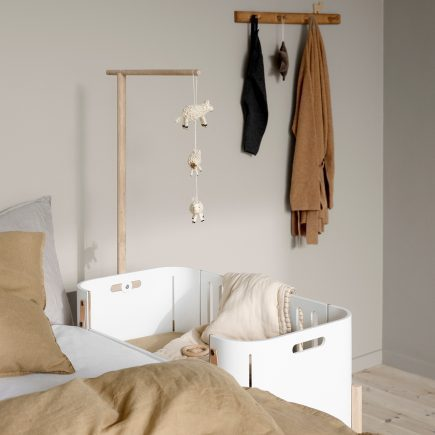 Oliver Furniture Wood Co Sleeper with holder for canopy