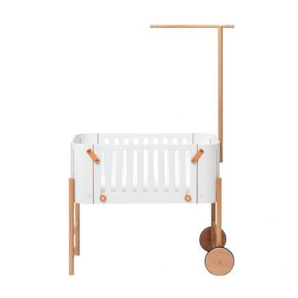Oliver Furniture Wood 041487 co-sleeper with holder for canopy