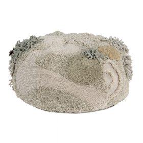 Lorena Canals – Poef – Mossy Rock – 30 x 50 cm