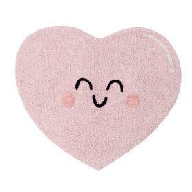 Lorena Canals – Wasbaar Vloerkleed – Happy Heart – 90 x 105 cm