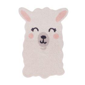 Lorena Canals – Wasbaar Vloerkleed – Smile like a Llama – 82 x 120 cm