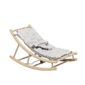 Oliver Furniture – Baby + Peuter Wipstoel – Eikenhout/Grijs