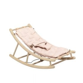 Oliver Furniture – Baby + Peuter Wipstoel – Eikenhout/Rose