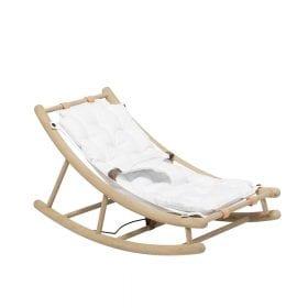 Oliver Furniture – Baby + Peuter Wipstoel – Eikenhout/Wit
