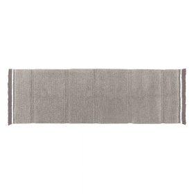 Woolable – Wollen Vloerkleed Steppe – Sheep Grey – 80 x 230 cm