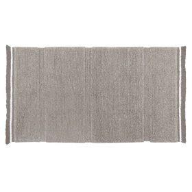 Woolable – Wollen Vloerkleed Steppe – Sheep Grey – 80 x 140 cm