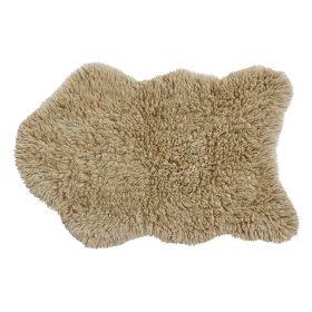 Woolable – Wollen Vloerkleed Woolly – Sheep Beige – 75 x 110 cm