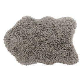Woolable – Wollen Vloerkleed Woolly – Sheep Grey – 75 x 110 cm
