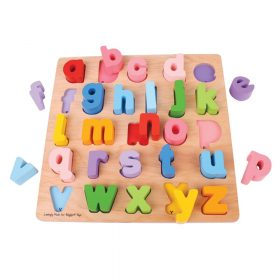 Bigjigs – Alfabet puzzel, kleine letters