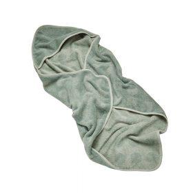 Leander – Badhandoek met Capuchon – Hoodie – MATTY – Sage Green