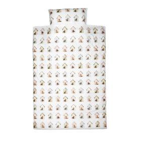 Studio Ditte – Dekbedovertrek Baby – Vogelhuis – 100 x 135 cm