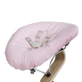 Leander – Kinderstoel – Baby Matras – Pale Pink/Zand