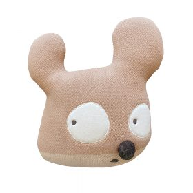 Woolable – Edgar Plans Wollen Sierkussen – Miss Mighty Mouse – 35 x 35 cm