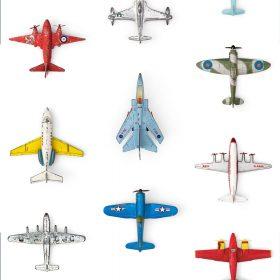 Studio Ditte – Behang Kinderkamer – Vliegtuigen