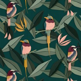 Studio Ditte – Behang Kinderkamer – Vogel