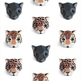 Studio Ditte – Behang Kinderkamer – Panthera