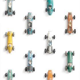 Studio Ditte – Behang Kinderkamer – Raceauto