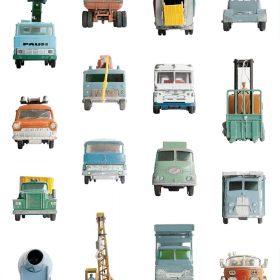 Studio Ditte – Behang Kinderkamer – Werkauto