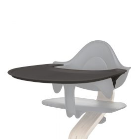 Nomi – Kinderstoel – Dienblad – Antraciet