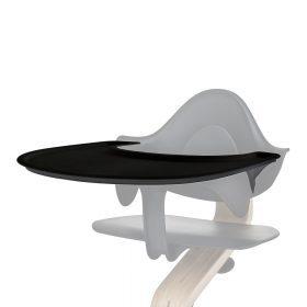 Nomi – Kinderstoel – Dienblad – Zwart