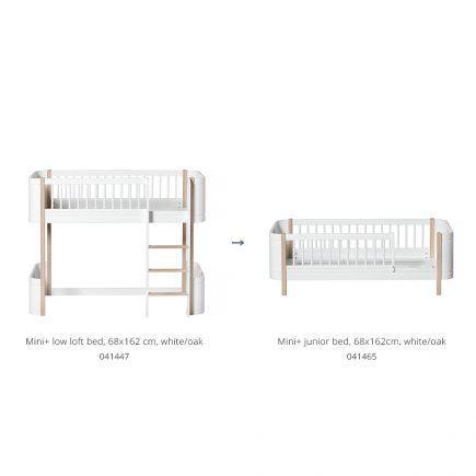 oliver-furniture-conversie-kit-wood-mini-low-loft-bed-naar-junior-bed-wit-eiken