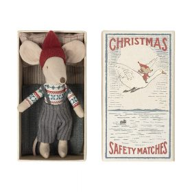 Maileg – Kerst muis in Luciferdoosje – Grote Broer