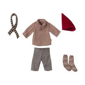 Maileg – Kerstkleding – Medium Muis – Jongen